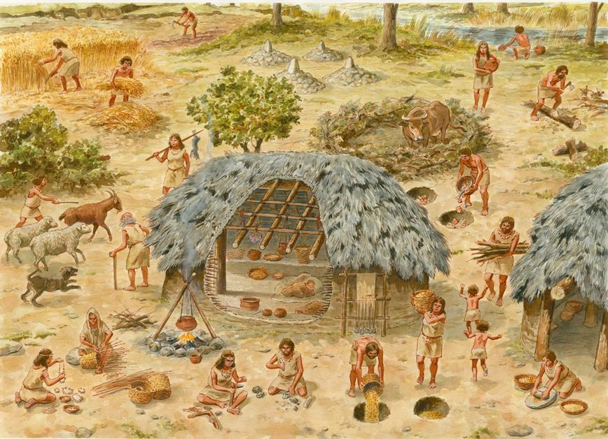 Картинки древней истории человечества