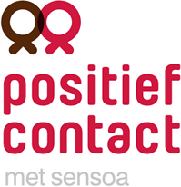 Positief Contact, lotgenotencontact voor mensen met hiv Logo